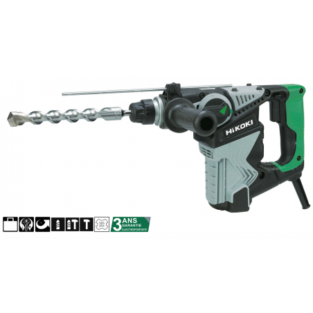 Perfo-burineur 28 mm SDS + 720 W - 3,5 Joules - DH28PCWSZ - HITACHI HIKOKI