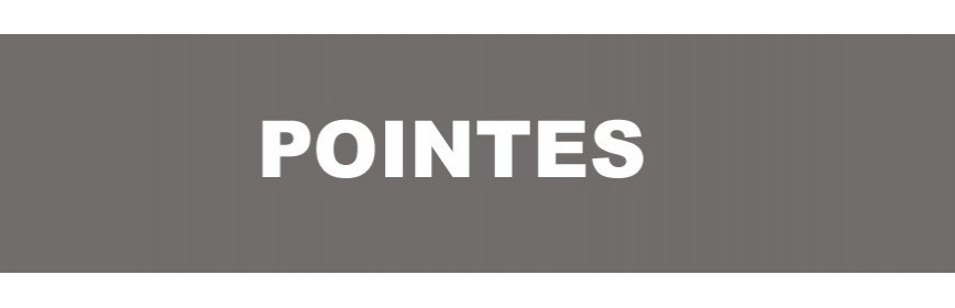 Pointes N - TIP - SK 400 - SKN 16 - F 16 - 14/60 - G 16 - N°16 - NT65A