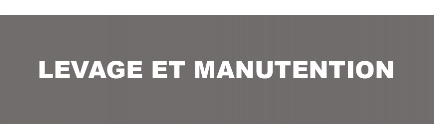 Levage et manutention